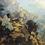 Jesus prays wilderness